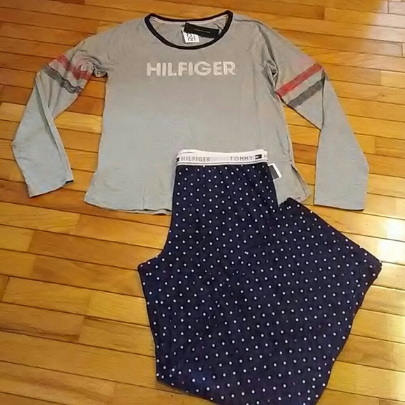 Vintage Tommy Hilfiger Women/'s Sleepwear Top Size L